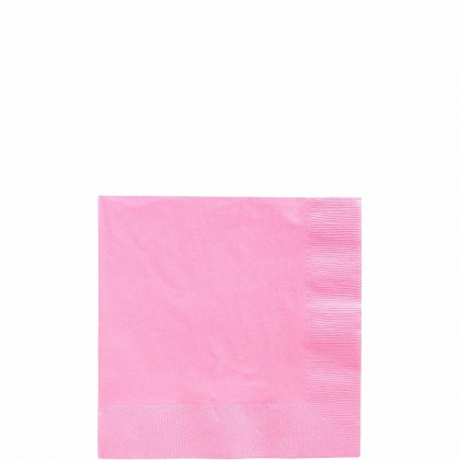 Beverage Napkins Bright Pink