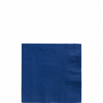 Beverage Napkins Bright Royal Blue