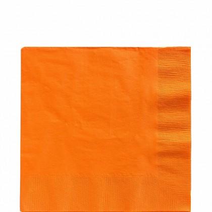 Luncheon Napkins Orange Peel