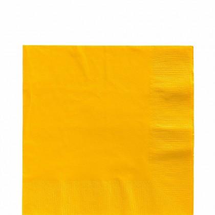 Luncheon Napkins Yellow Sunshine