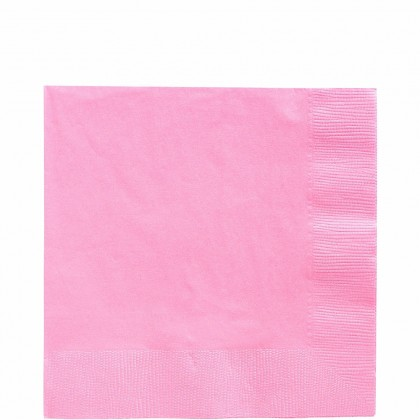 Luncheon Napkins Bright Pink