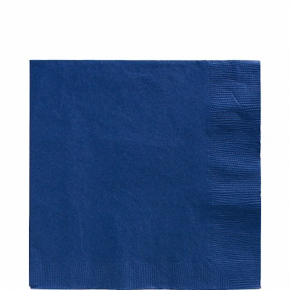 Luncheon Napkins Bright Royal Blue