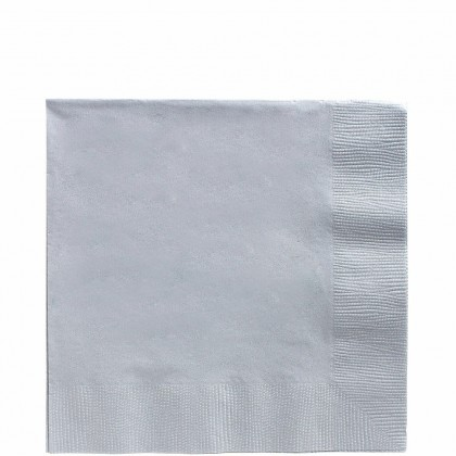 Luncheon Napkins Silver