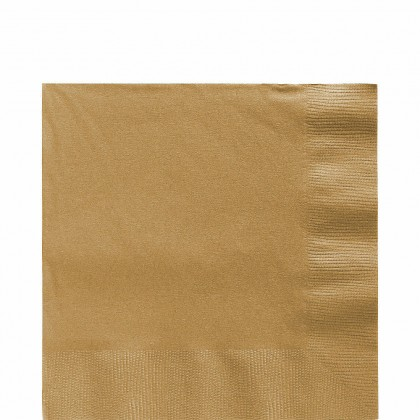 Luncheon Napkins Gold