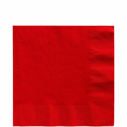 Luncheon Napkins Apple Red