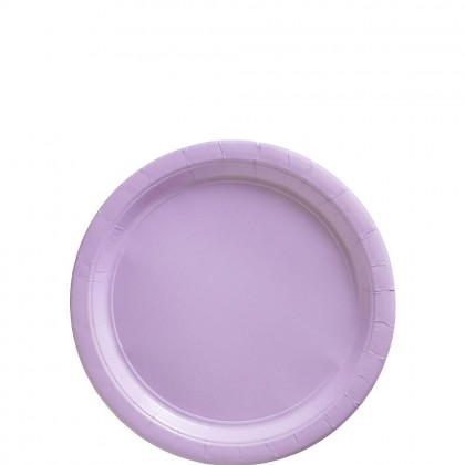 Paper Plates 7 in Lavender
