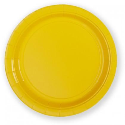 "Light Yellow Plates, 7"" - Paper"