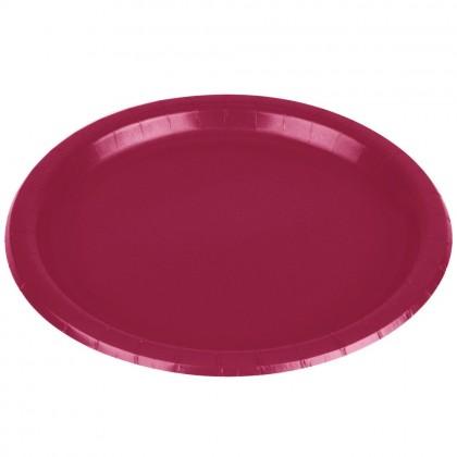 """Magenta Plates, 7"""" - Paper"""