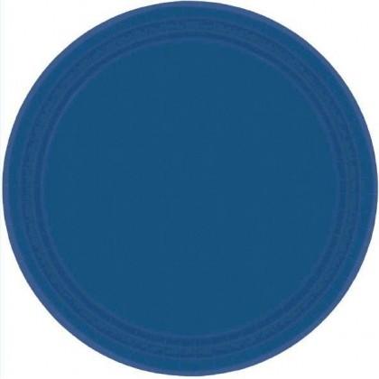 "Navy Flag Blue Plates, 7"" - Paper"
