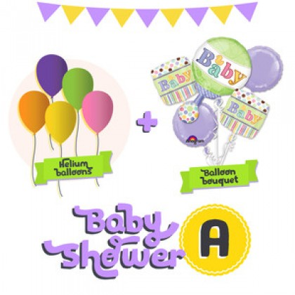 Baby Shower Balloon Package A