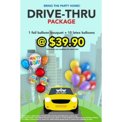 Drive-Thru Package A