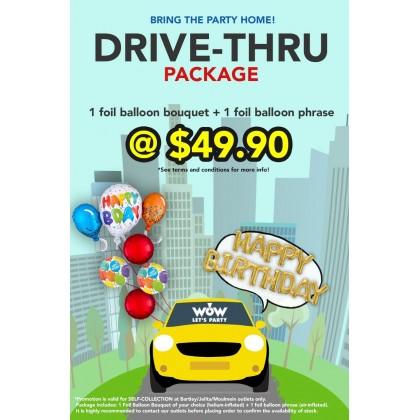 Drive-Thru Package B