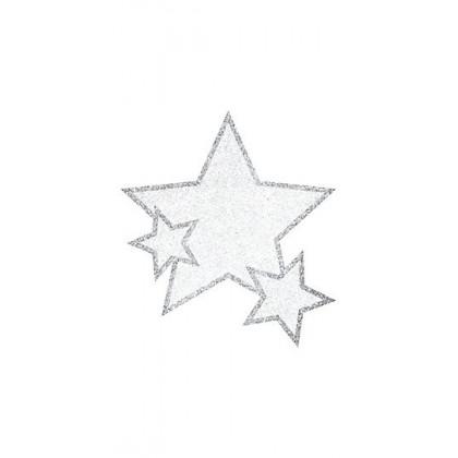 """5"""" x 3 1/2"""" Body Jewelry Sprit - Silver"""