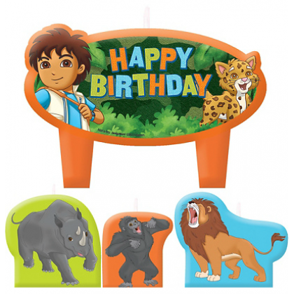 Diego's Biggest Rescue© Birthday Candle Set