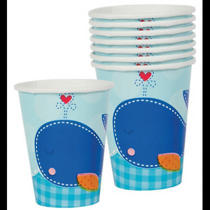 9oz Ahoy Baby Cups