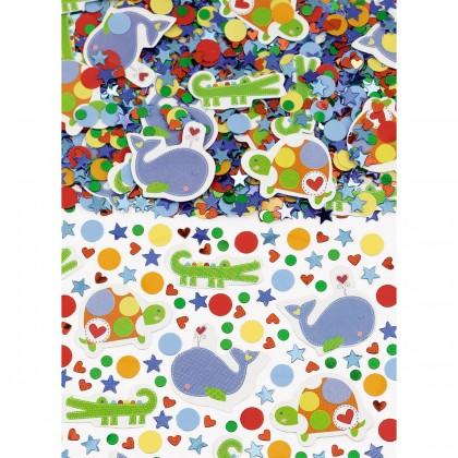 Ahoy Baby Mega Value Pack Confetti Paper & Foil