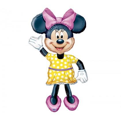 """P80 54"""" Minnie AirWalkers® Foil Balloon"""