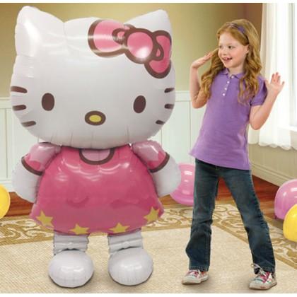 """P93 50"""" Hello Kitty AirWalkers® Foil Balloon"""