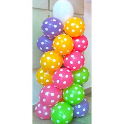 6 Layer Balloon Column