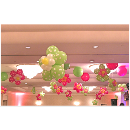 Floral Shaped Topiary - Air Filled