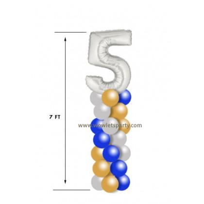 7-Ft Column (Number Cap)
