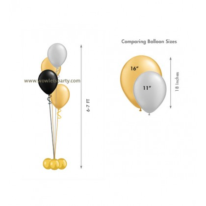Balloon Centrepiece (4 Latex)