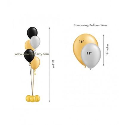 Balloon Centrepiece (5 Latex)