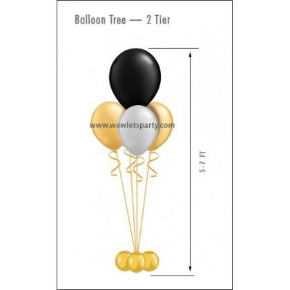 Balloon Tree 2-Tier (4 Latex)