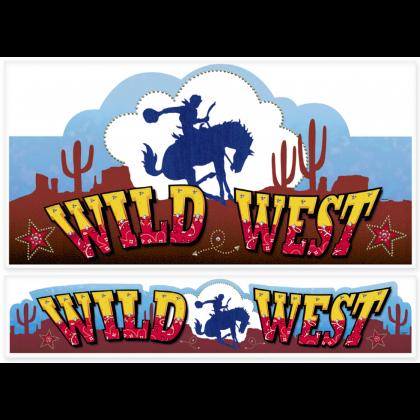 Bandana & Blue Jeans Western Printed Paper