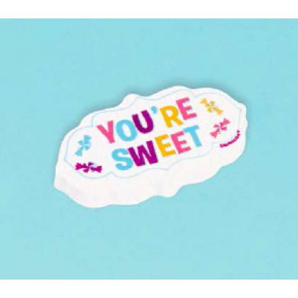 Sweet Shop Giant Eraser Favor 4PCS