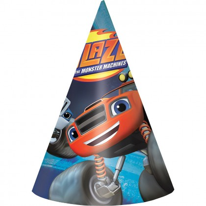 Blaze & the Monster Machines™ Cone Hats - Paper