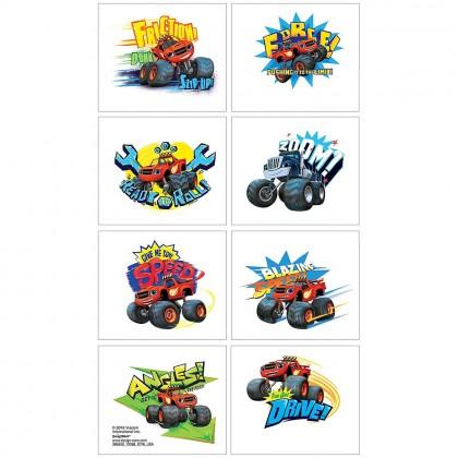 Blaze & the Monster Machines™ Tattoo Favors