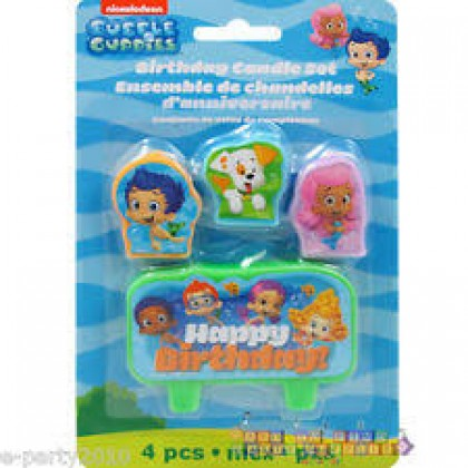 Bubble Guppies™ Party Birthday Candle Set