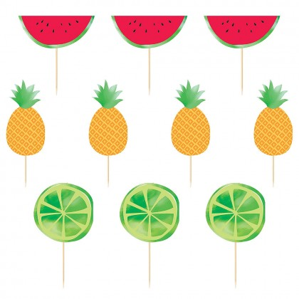 Hello Summer Fruit Deluxe Picks
