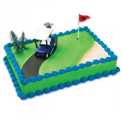 Golf Cart Cake Kit