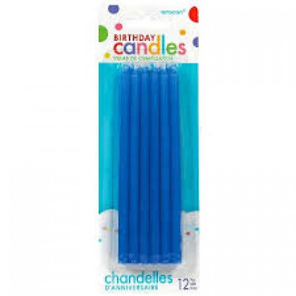 Taper Candles - Blue