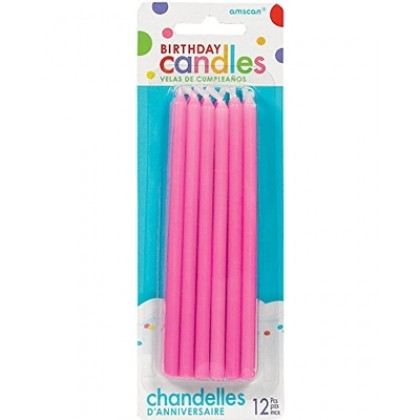 Taper Candles - Pink