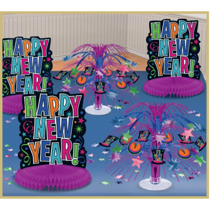 Table Decorating Kit - Jewel Tones