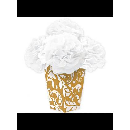 Elegant Scroll Tissue & Printed Paper - Gold