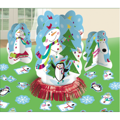 Joyful Snowman Christmas Table Dec. Kit
