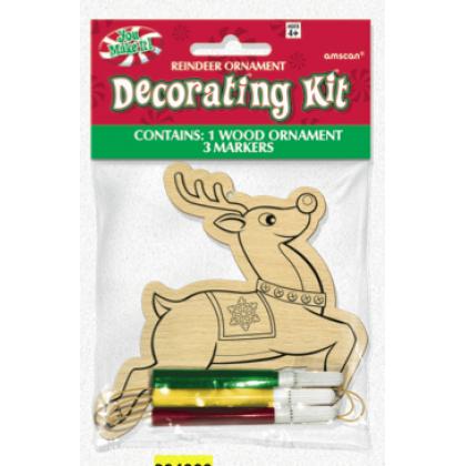 Reindeer Wood Ornament Kits