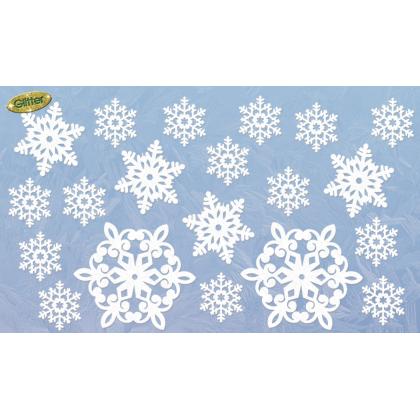 """5"""", 7 1/2"""", 11 1/2"""" Christmas - Glitter"""