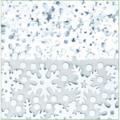 2 1/2 oz. Sparkly Snow Mix Confetti Foil