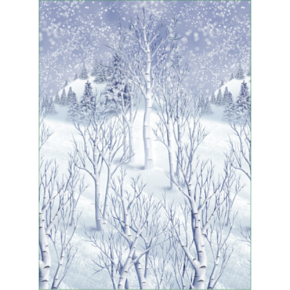 "48"" x 40' Winter Wonderland Scene Setters® Room Rolls - Plastic"