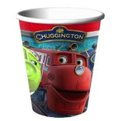 9oz Chuggington Paper Cups