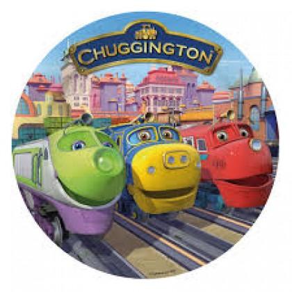 "7"" Chuggington Round Plate"