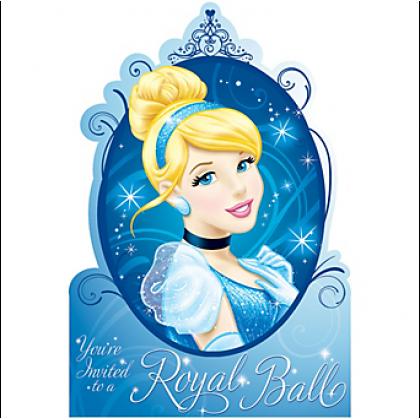 ©Disney Cinderella Postcard Invitations