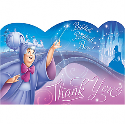 ©Disney Cinderella Thank You Cards