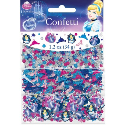 ©Disney Cinderella Value Confetti - Paper & Foil