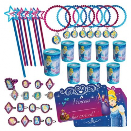 ©Disney Cinderella Mega Mix Value Pack Favors